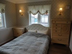 おちついた印象の主寝室。